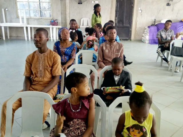 Members Listening to the Word of God