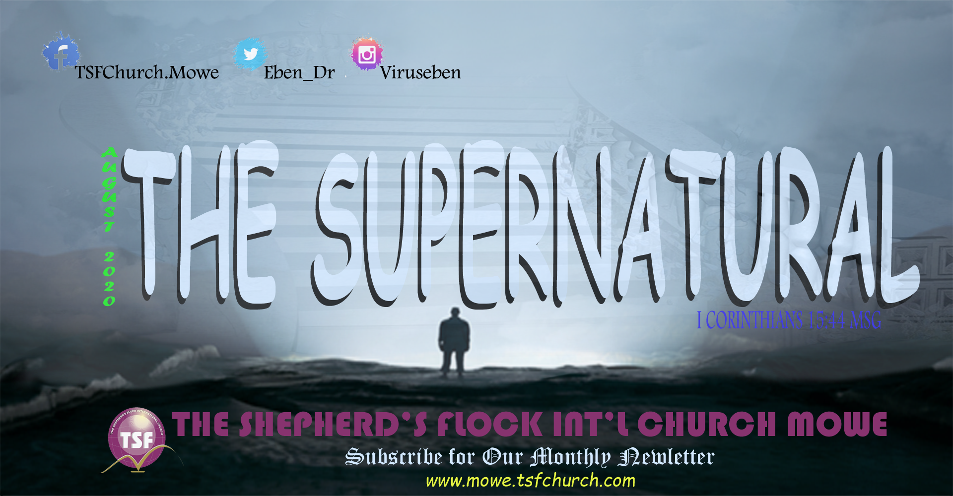 Monthly Theme - The Supernatural